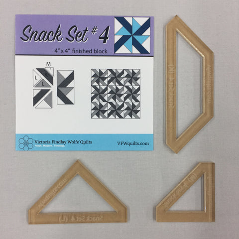 *NEW* Snack Set #4- Mini Template Set