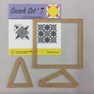 Snack Set #7- Mini Template Set