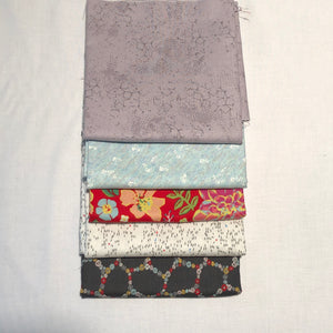 *NEW* 5 pc Half Yard Bundle - Concrete Blooms