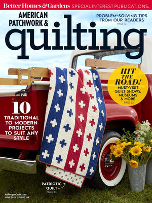 *NEW* Now & Then Quilt: Fabric and Magazine