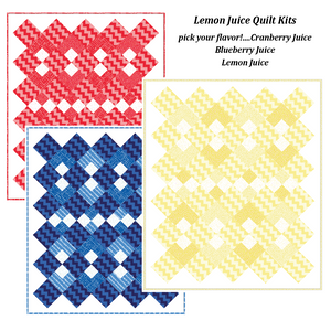 Lemon Juice Variations Twin Quilt Kit