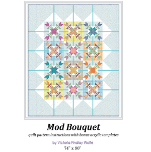 *NEW* Mod Bouquet Quilt: Pattern