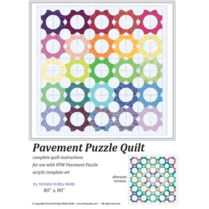 Pavement Puzzle Pattern and Template