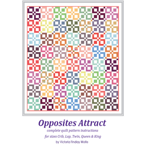 *NEW* Opposites Attract Quilt Pattern