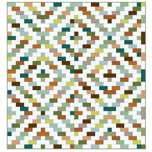 *NEW* Charleston Pavement Quilt: Safari Kit