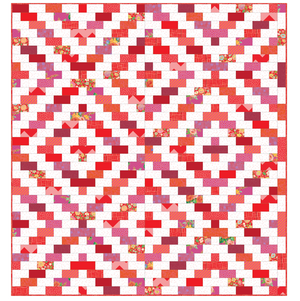 *NEW* Charleston Pavement Quilt: Red Kit