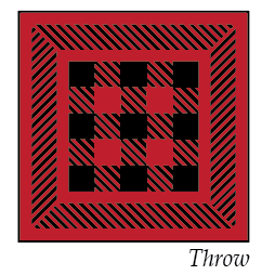*NEW* Warp Weaver Quilt Kit - Red & Black