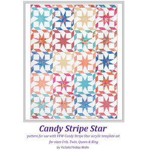 *NEW* Candy Stripe Star Quilt Kit