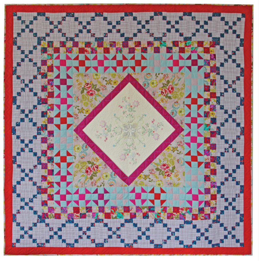 Medallion Joy Quilt Pattern