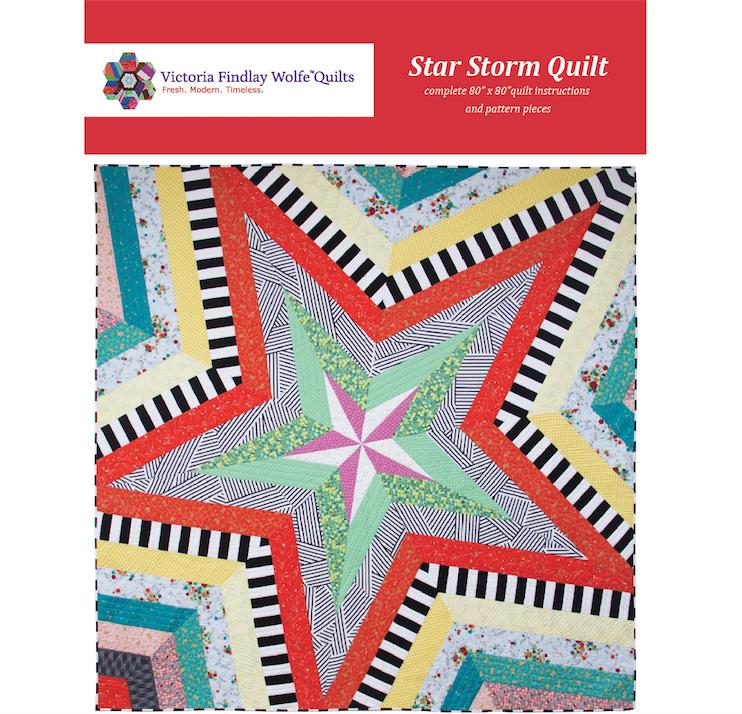 New Bestsellers Star Storm Pattern Victoria Findlay Wolfe Quilts