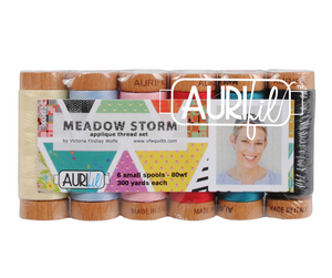 Meadow Storm 80wt Applique Thread Set