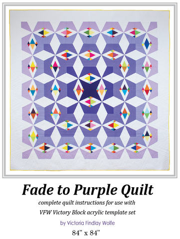 *NEW* Fade to Purple: Pattern & Templates