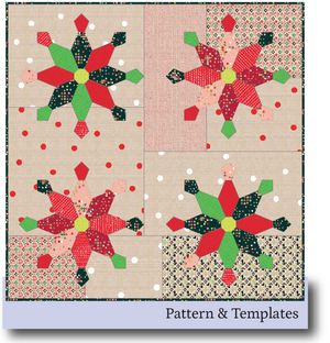 Christmas No Two Alike: Pattern & Templates