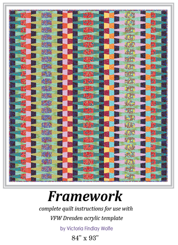 *NEW* Framework Quilt: *Pattern Instructions Only