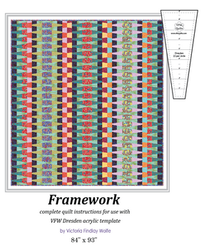 *BestSellers* *NEW* Framework Quilt: Pattern & Template