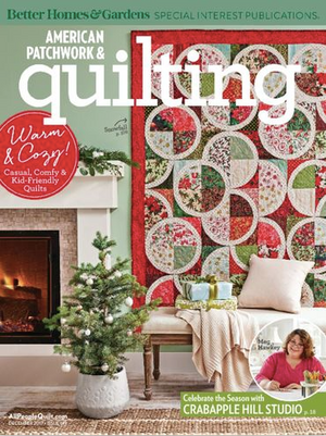 Arctic Circle Pattern in American Patchwork and Quilting Magazine