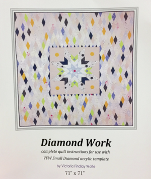 Diamond Work Quilt: *Pattern Instructions Only
