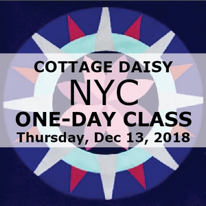 NYC Day Class Dec. 13: Cottage Daisy