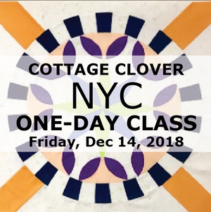 NYC Day Class Dec. 14: Cottage Clover
