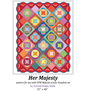 *New* Majesty Pattern and Template Set