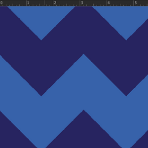 Chevron Stripe - Blue Fabric VF203-BL3