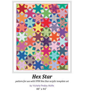 *NEW* Hex Star Pattern and Template Set