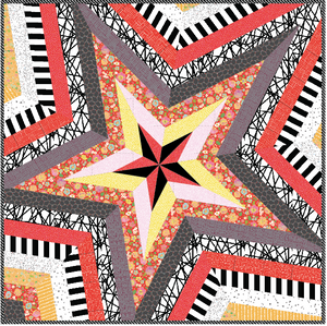 Star Storm Pattern & Playmaker Fabric KIT!