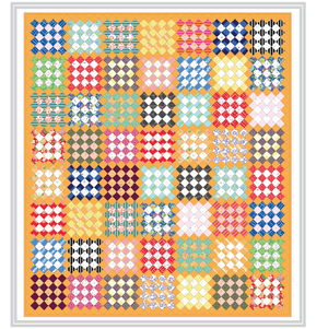 Vintage Windows Quilt: Kit