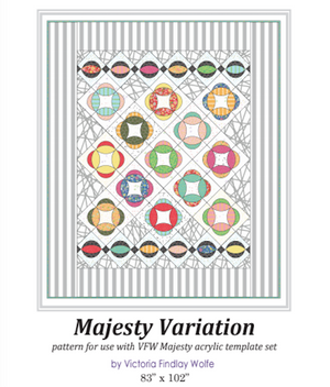 *New* Majesty Variation Pattern *Instructions Only*