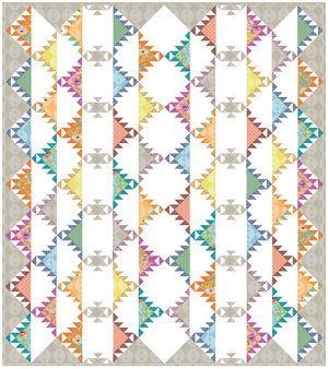 *NEW* Feathered Hills Quilt: Kit