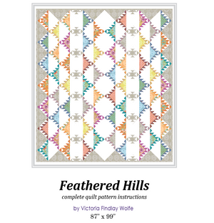 *NEW* Feathered Hills Quilt: Pattern