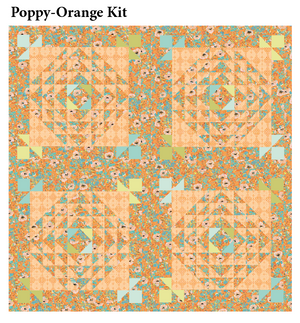 Picnic Flowers Quilt Kit