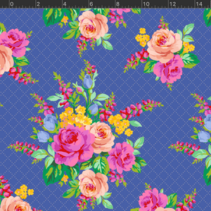 *NEW* Elise Floral - Blue Fabric