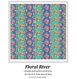*NEW* Floral River Quilt Pattern