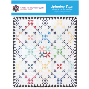 *New* *BestSellers* Spinning Tops Quilt Kit
