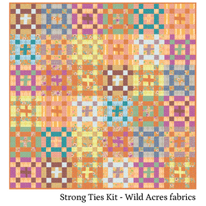 Strong Ties Quilt: Wild Acres Fabrics - Kit