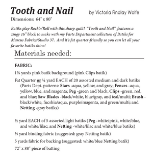 *NEW* Tooth and Nail Pattern