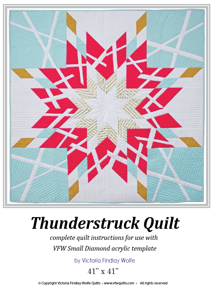 *NEW* Thunderstruck: Pattern & Templates