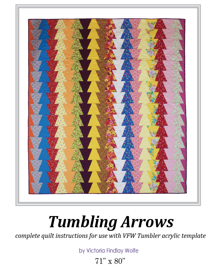 Tumbling Arrows Pattern & Template
