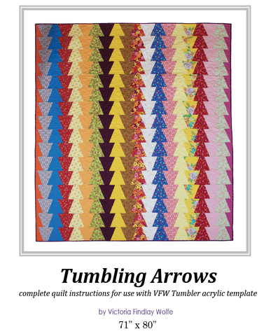 Tumbling Arrows Pattern * Instructions Only *
