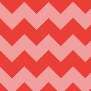 *NEW* Chevron Stripe - Red Fabric VF203-RE1