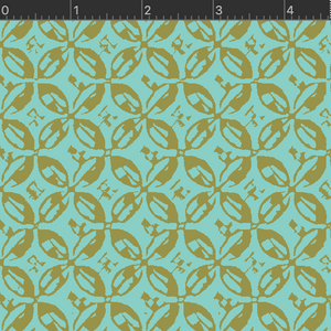 VF401-AQ1 Wild Acres - Shade - Aqua Fabric
