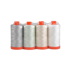 *BestSellers* *NEW* 4 Pack Light Work 50wt Aurifil Thread pack