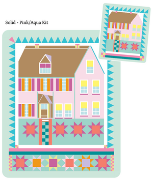 *New* *Bestsellers* Wild Acres Farmhouse Kit-Solid-Pink/Aqua