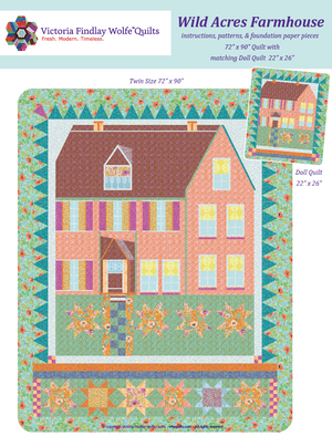 *New* *Bestsellers* Wild Acres Farmhouse Kit- Solid-Lavender/Apricot