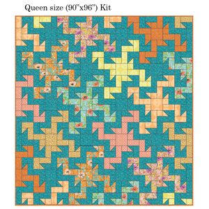 *NEW* Wild Patch Quilt Kit