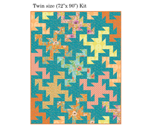 Wild Patch Twin Size Quilt Kit - LAST ONE!