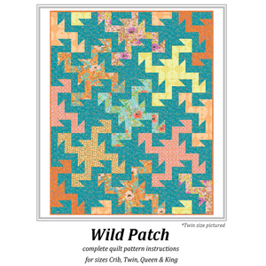 *NEW* Wild Patch Quilt: Pattern