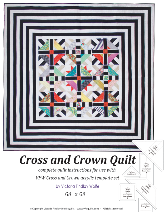 *NEW* Cross & Crown Quilt: Pattern & Templates