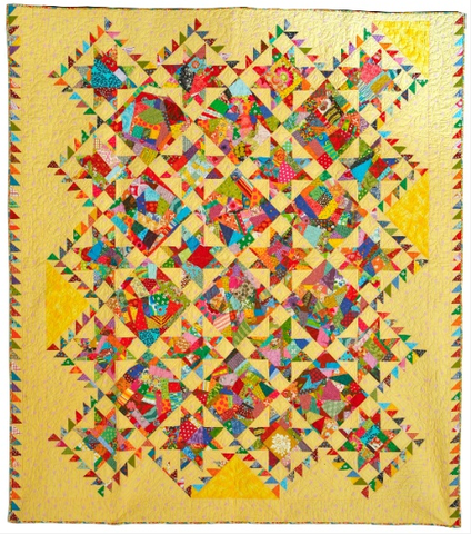 The Star Splitter Quilt Patttern
